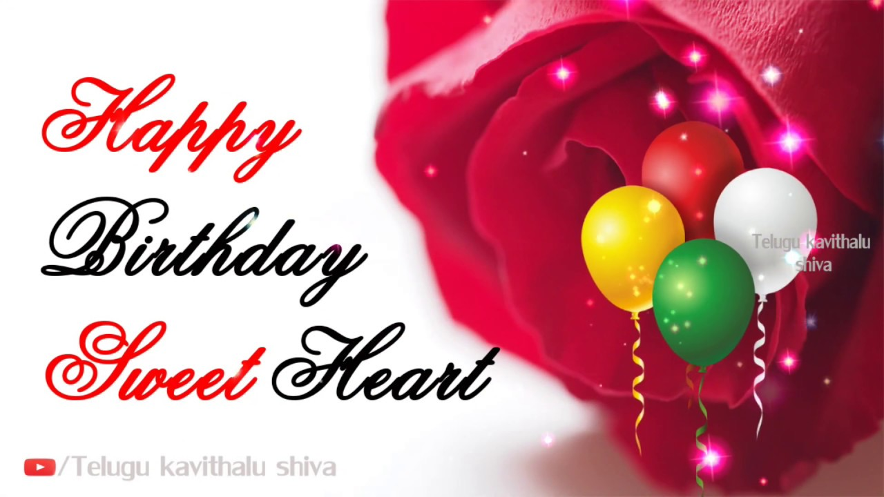 Romantic Happy Birthday Wishes For Lover My Love Quotes