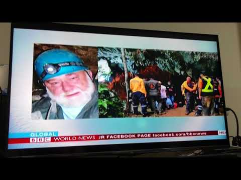 BBC World News - Thai Cave Rescue 25 June 2018