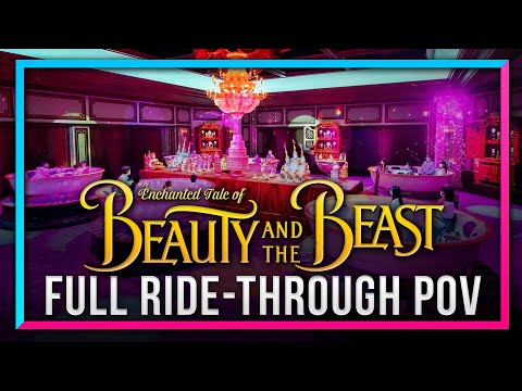 RIDE POV For Enchanted Tale Of Beauty And The Beast At Tokyo Disneyland - DSNY Newscast