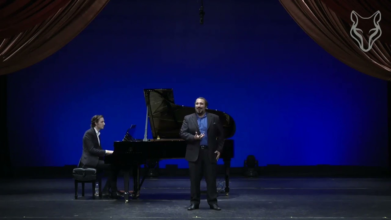 Ecco, ridente in cielo - Christopher Bozeka, tenor