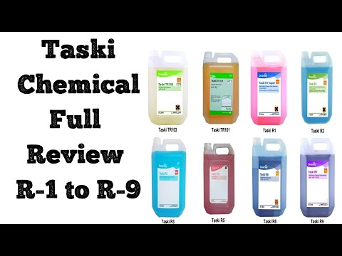 Housekeeping Cleaning Agents - Taski R-Series Chemicals (R1 To R9) Usage 50K + View