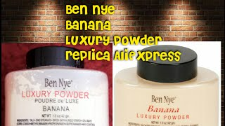 Ben Nye  Banana Powder Replica from AliExpress review<br /> @Kandi_Kouture_