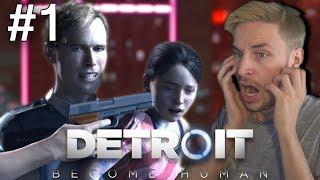 KAN JIJ DIT MEISJE REDDEN!? - Detroit: Become Human #1