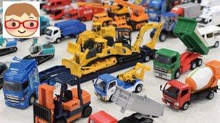 はたらくくるまのおもちゃ ダイヤペット ブーブー のりもの 重機 ショベルカー,ユンボ,ミキサー車,レッカー車,ダンプ,ゴミ収集車,バックホー