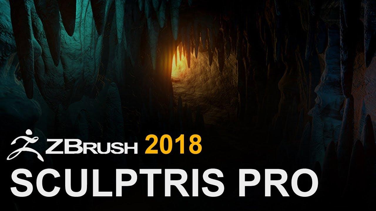 ZBrush 2018 Sculptris Pro
