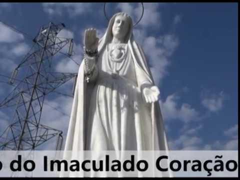 Nicho do Imaculado Coração de Maria em São Martinho de Mouros