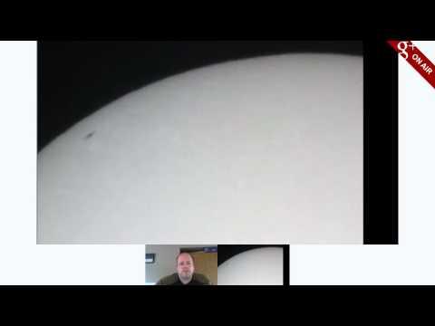 Live Telescope view of the Sun