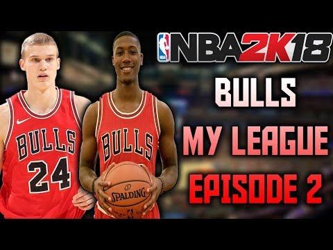 TRADING MIROTIC!! - Bulls My League Episode 2 - NBA 2K18