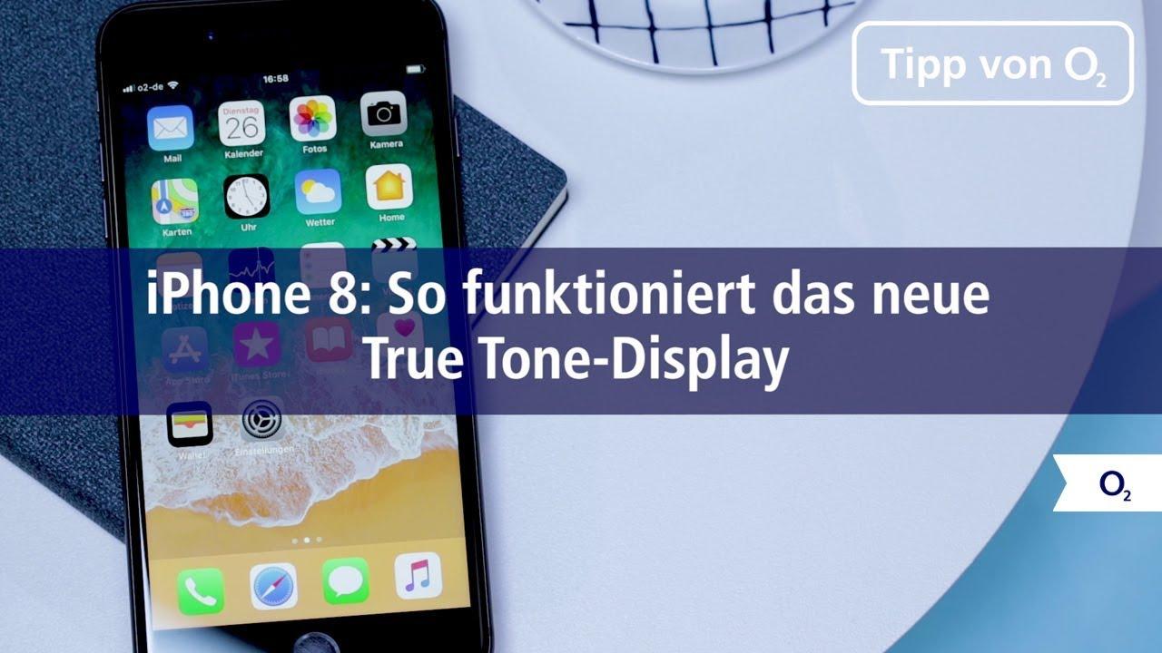 Iphone 8 So Funktioniert Das Neue True Tone Display Youtube