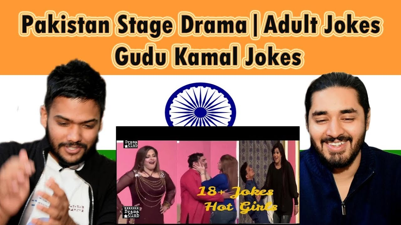 Indian Reaction on Pakistan Stage Drama | Gudu Kamal Jokes | Swaggy d