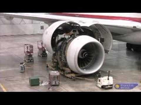 Boeing 777 #2 Engine Change