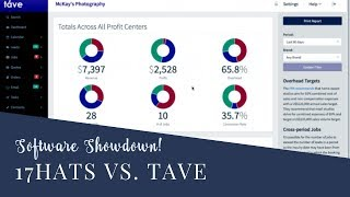 17Hats vs Tave: Photography Studio Software Review for Client Tracking, Workflow and Sales