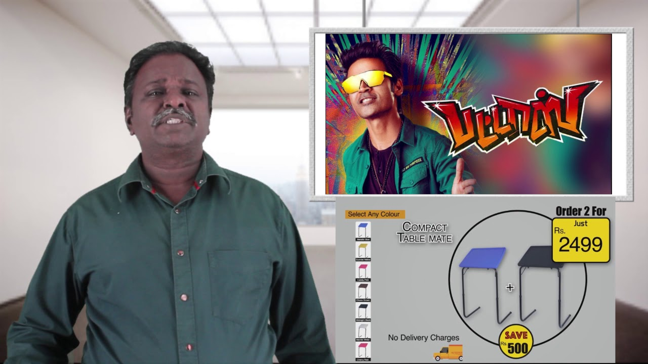 Download PATTAS Review - Pattasu - Dhanush - Tamil Talkies