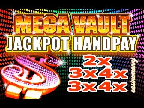 MASSIVE HUGE WIN! - **JACKPOT HANDPAY** - MEGA VAULT SLOT - LIVE! - Slot Machine Bonus
