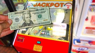 Game | Can I Win Money from a Prize Arm Arcade Game? | Can I Win Money from a Prize Arm Arcade Game?