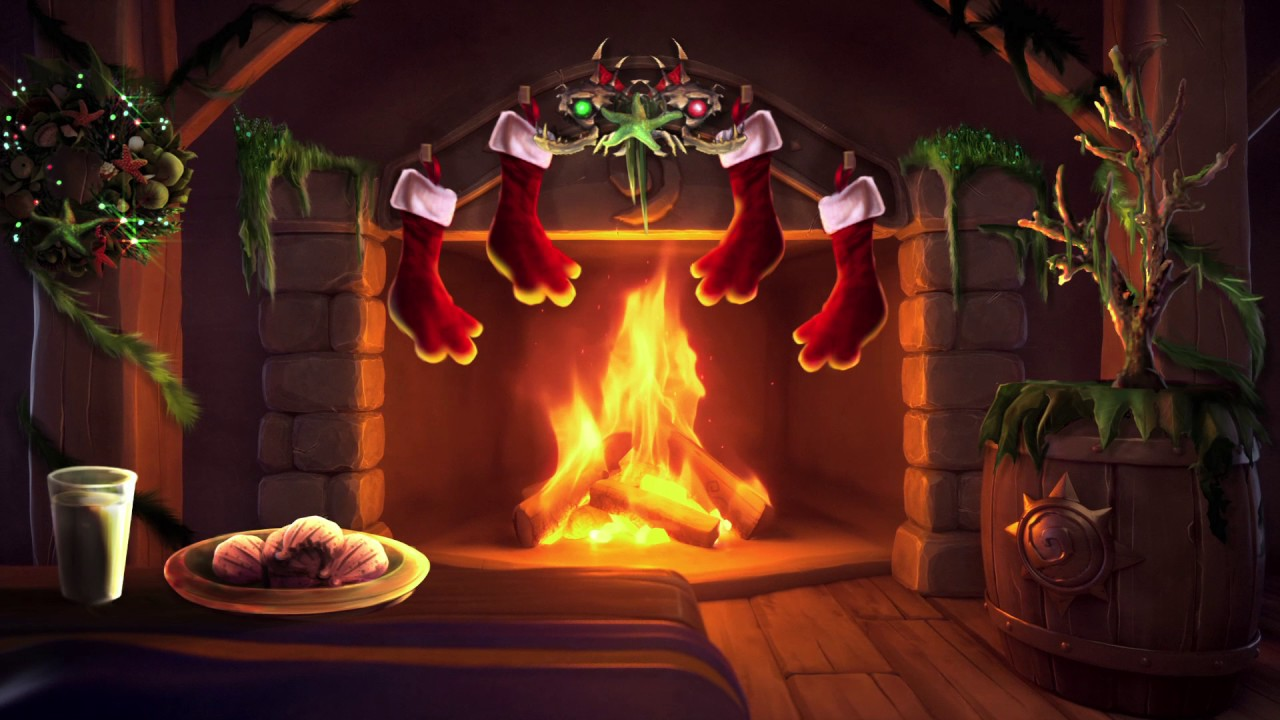 Hearthstone Has The Perfect Yule Log Video For Your Holiday