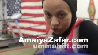 Amaiya Zafar, Muslim teen oxer