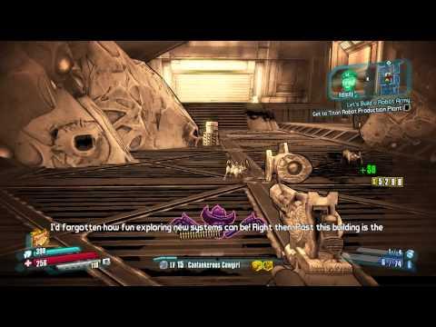 Borderlands: The Pre-Sequel - Walkthrough Part 12: Let's Build a Robot Army