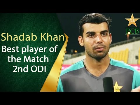 Shadab Khan | Making Pakistan Proud | Jubilee Life Best Player of the Match | PCB