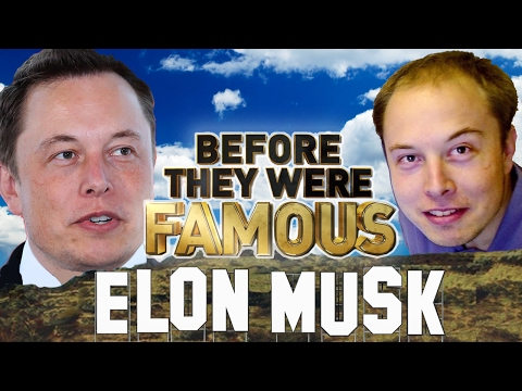 ELON MUSK - Before They Were Famous - Tesla & SpaceX