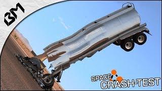 BeamNG Drive - FAIRE TOMBER UN CAMION DEPUIS L'ESPACE - Truck Crash-Test thumbnail