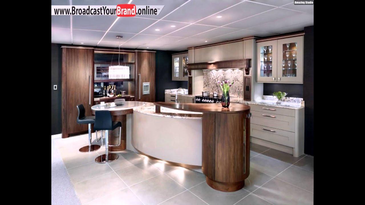 Strato küchen top küchenhersteller europa insel holz marmor   youtube