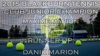 Blackburn Tennis Club- 2015 Junior Tournament