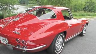 1963 Chevy Corvette StingRay Test Drive and Drive By