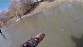 открытие сезона 2021 рыбалка весенний жерех на реке Каратал