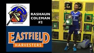 Rashaun Coleman NJCAA Basketball Highlights 2018