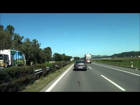 From Geneva to Bern /Autobahn A1 / Switzerland / 09.2010 / HD