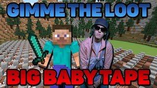 Big Baby Tape - Gimme the Loot ▶ На нотных блоках Minecraft + Караоке
