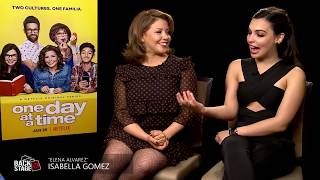 ONE DAY AT A TIME: Justina Machado & Isabella Gomez Interview (Season 2)