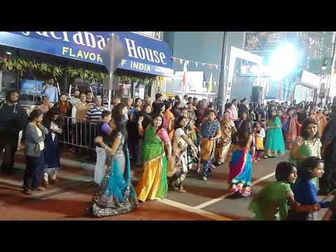 Jersey city Newark Avenue Garba 9/29/2017