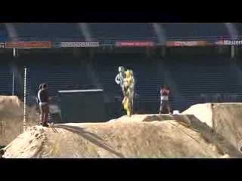 Ricky Carmichael practicing, ESPN Moto X World Championships