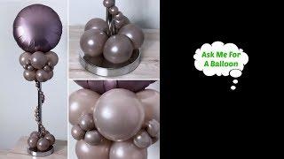 #howto Luxury Balloon Centerpiece