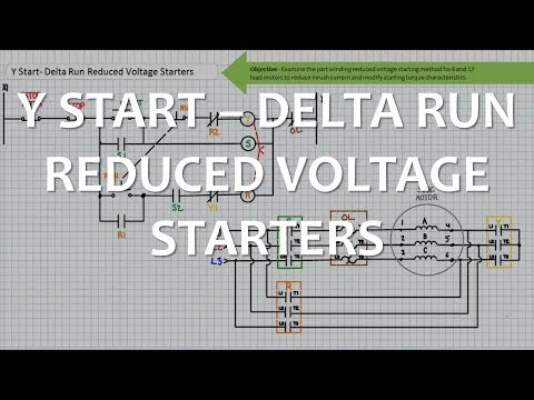 y start-delta run reduced voltage starters (full lecture) - youtube  youtube