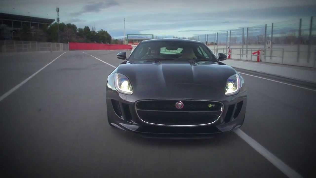 New Jaguar F-Type R Coupé 2014 Dynamic on track Full HD ...