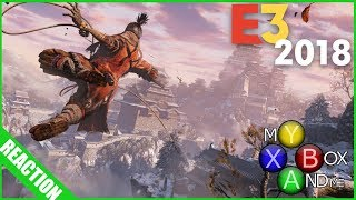 Sekiro: Shadows Die Twice  Reaction - E3 2018