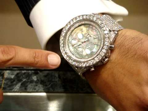 Breitling Bentley Watch >> RICK ROSS JEWELRY BENTLEY BREITLING ICED OUTJEWELRY.MPG ...