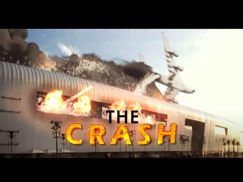 3D crash plane VFX ( visual effects) - Morocco Casablanca
