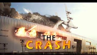 3D crash plane VFX ( visual effects) - Morocco Casablanca