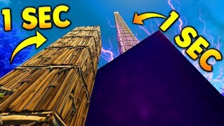 *NEW* SKY LIMIT IN 1 SECOND..! Fortnite Funny Fails and WTF Moments! #28
