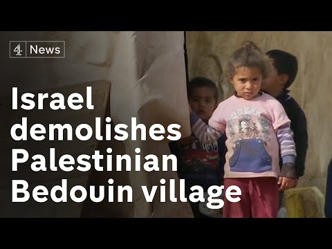 Call For Israel To Halt Demolition Of Palestinian Bedouin Village In Occupied West Bank