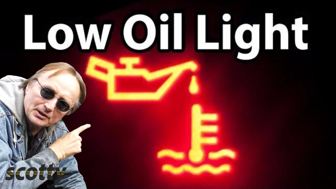 How To Fix A Low Oil Pressure Light In Your Car Youtube 1999 Saturn Sl Fuse Box