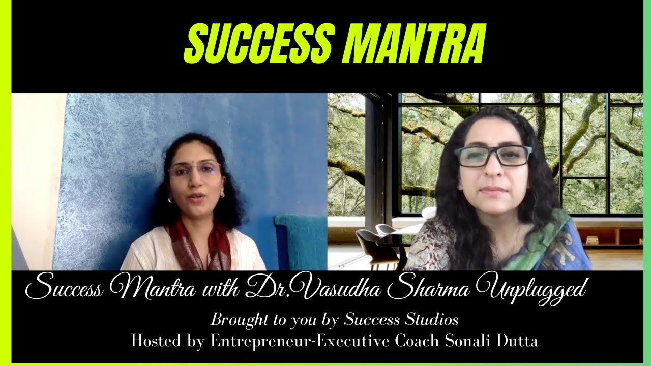 Yoga for Better Health & Mind  Success Mantra  Dr. Vasudha Sharma  Dr. Sonali Dutta Baanerjee 