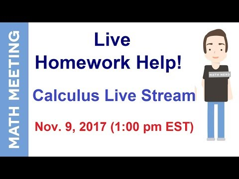homework help calculus