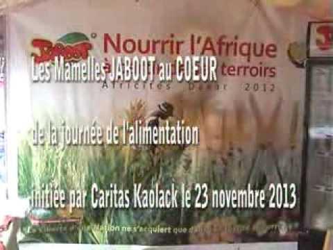 CAMPAGNE INTERNATIONALE CARITAS : Les Mamelles Jaboot à L'ouverture à Kaolack