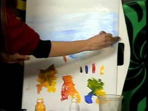 A arte de pintar um quadro com o proacuteprio pau - 2 8