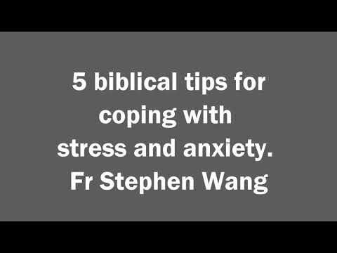 5 biblical tips for coping with stress and anxiety
